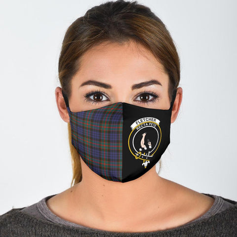 Fletcher of Dunans  Tartan Mouth Mask The Half
