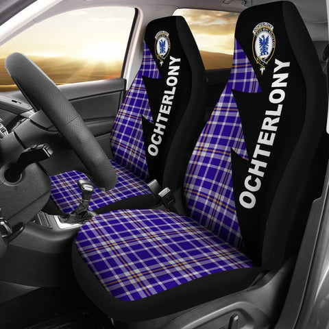 Image of Ochterlony Clans Tartan Car Seat Covers - Flash Style
