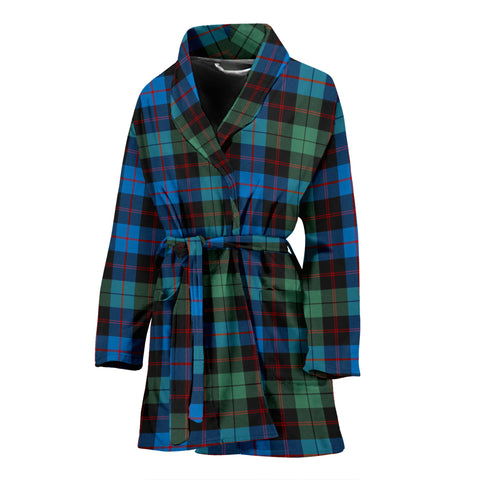 Guthrie Ancient Tartan Womens Bathrobe
