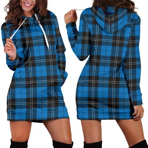 Ramsay Blue Ancient, Tartan, For Women, Hoodie Dress For Women, Scottish Tartan, Scottish Clans, Hoodie Dress, Hoodie Dress Tartan, Scotland Tartan, Scot Tartan, Merry Christmas, Cyber Monday, Black Friday, Online Shopping,Ramsay Blue Ancient Hoodie Dress