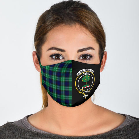 Abercrombie  Tartan Mouth Mask The Half
