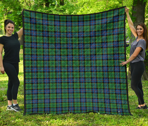 Forsyth Ancient Tartan Premium Quilt | Scottishclans.co