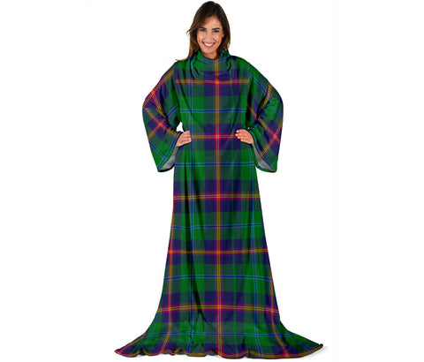 Young Modern Tartan Clans Sleeve Blanket | scottishclans.co