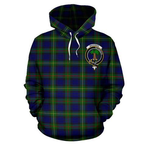 Image of Macewan Tartan Clan Badge Hoodie HJ4