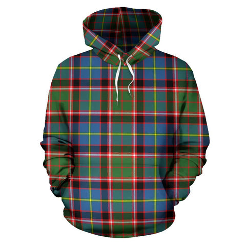 Stirling & Bannockburn District Tartan Hoodie HJ4