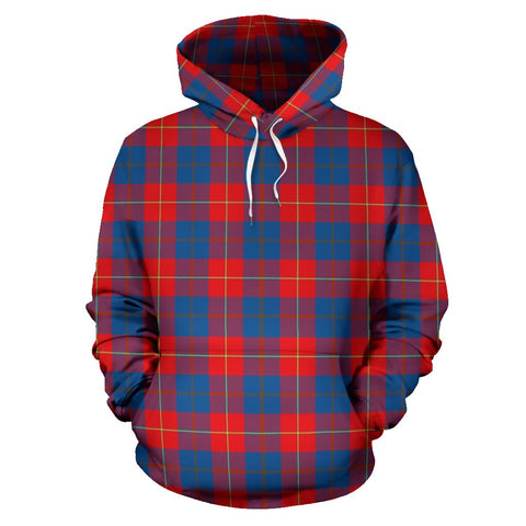 Image of Galloway Red Tartan Hoodie HJ4