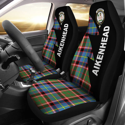 Image of Aikenhead Clans Tartan Car Seat Covers - Flash Style