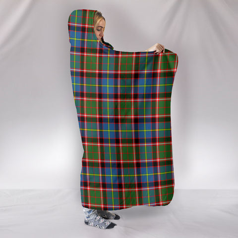 Stirling & Bannockburn District, hooded blanket, tartan hooded blanket, Scots Tartan, Merry Christmas, cyber Monday, xmas, snow hooded blanket, Scotland tartan, woven blanket