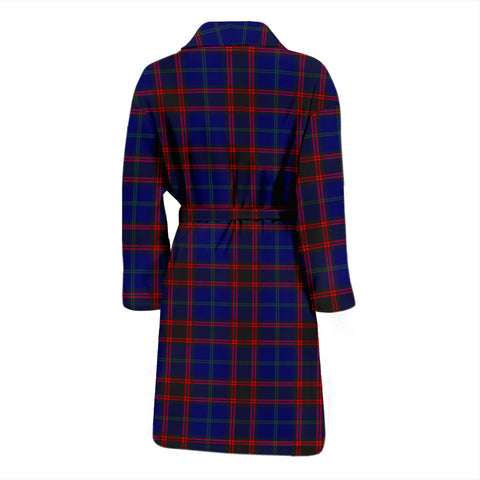 Home Modern Tartan Mens Bathrobe - BN