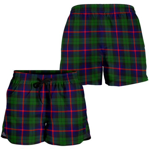 Urquhart Modern Tartan Shorts For Women K7