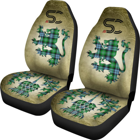 Arbuthnot Ancient Tartan Car Seat Cover Lion and Thistle Special Style TH8