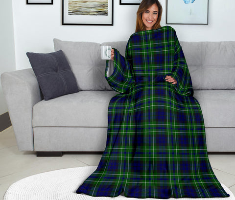 Image of MacNeil of Colonsay Modern Tartan Clans Sleeve Blanket K6