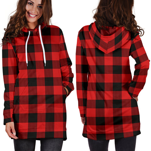 Rob Roy MacGregor Modern Tartan Hoodie Dress HJ4