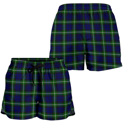 Lamont Modern Tartan Shorts For Women K7