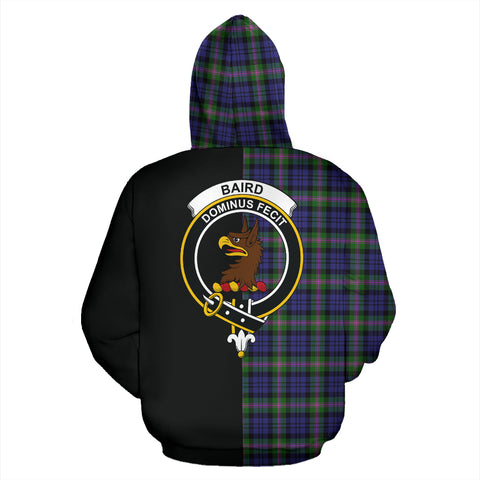 Image of Baird Modern Tartan Hoodie Half Of Me TH8
