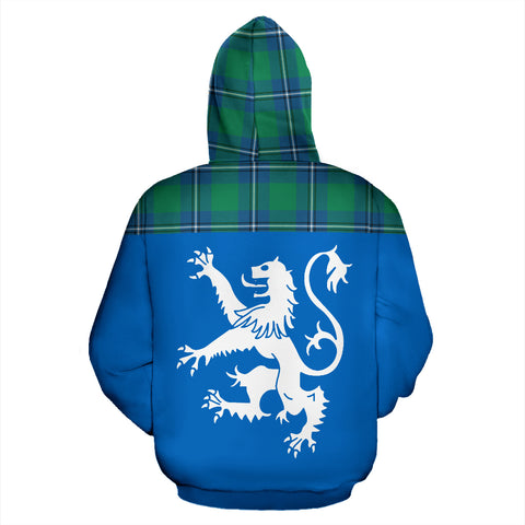 Image of Tartan All Over Hoodie - Lion Irvine Ancient - BN