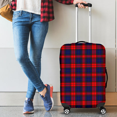Image of MacLachlan Modern Tartan Luggage Cover HJ4