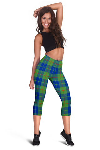 Barclay Hunting Ancient Tartan Capris Leggings