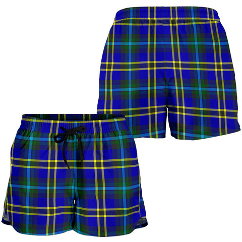 Weir Modern Tartan Shorts For Women K7