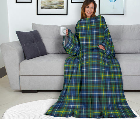 MacNeill of Barra Ancient Tartan Clans Sleeve Blanket K6