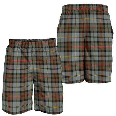 Image of MacLeod of Harris Weathered Tartan Shorts For Men K7
