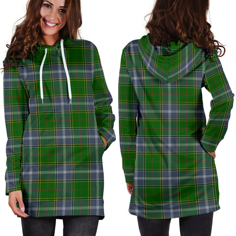 Pringle Tartan Hoodie Dress HJ4