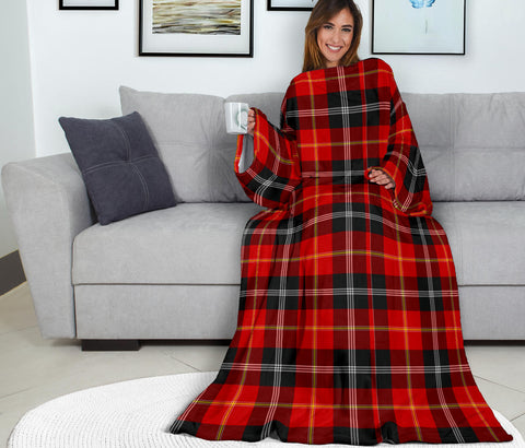 Image of Marjoribanks Tartan Clans Sleeve Blanket K6
