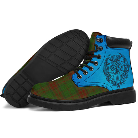 Maxwell Hunting Tartan All-Season Boots - Celtic Thistle TH8