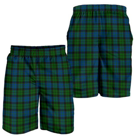 Image of MacKay Modern Tartan Shorts For Men K7