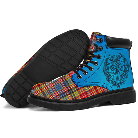 Image of Drummond Of Strathallan Tartan All-Season Boots - Celtic Thistle TH8