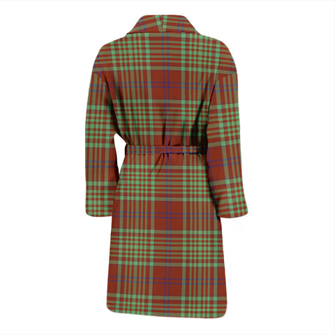 MacGillivray Hunting Ancient Tartan Mens Bathrobe - BN