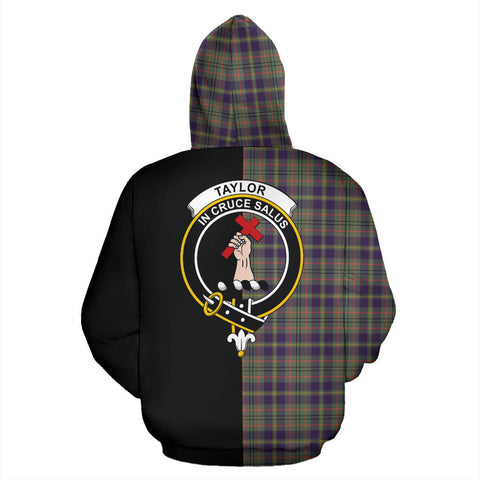 Taylor Weathered Tartan Hoodie Half Of Me TH8