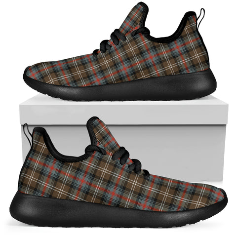 Tartan Mesh Knit Sneakers - Sutherland Weathered