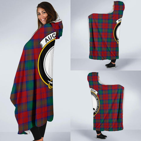 Auchinleck Clans Tartan Hooded Blanket - BN