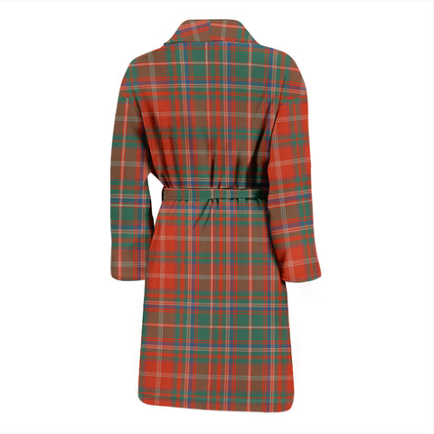 MacDougall Ancient Tartan Mens Bathrobe - BN