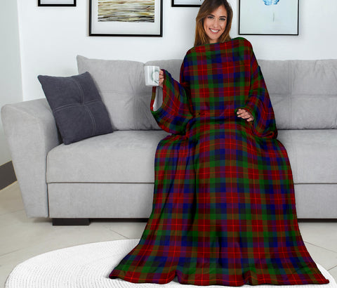 Image of Tennant Tartan Clans Sleeve Blanket K6