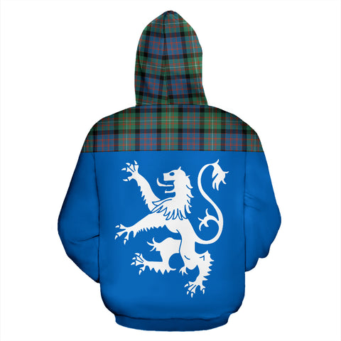 Tartan All Over Hoodie - Lion MacDonnell of Glengarry Ancient - BN
