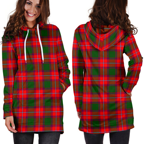 Rattray Modern Tartan Hoodie Dress HJ4