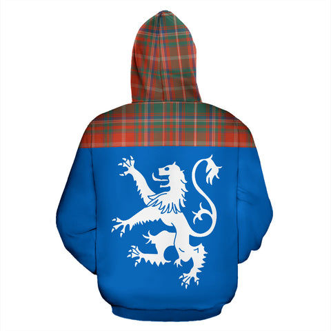Image of Tartan All Over Hoodie - Lion MacDougall Ancient - BN