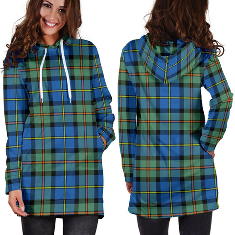 MacLeod of Harris Ancient Tartan Hoodie Dress HJ4