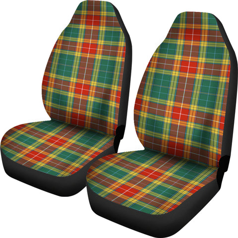 Buchanan Old Sett Tartan Car Seat Covers