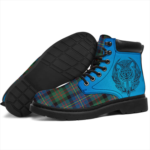Cameron Of Erracht Ancient Tartan All-Season Boots - Celtic Thistle TH8