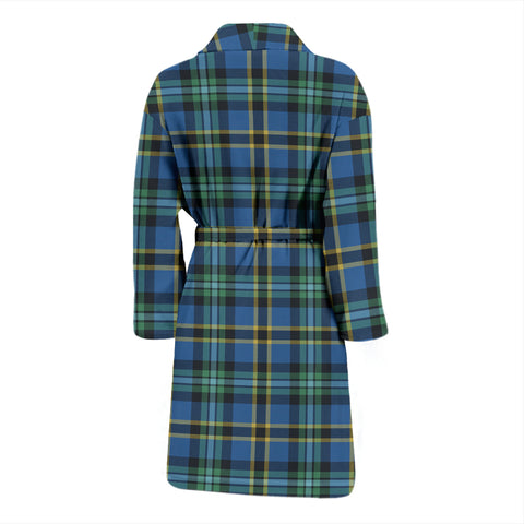 Weir Ancient Tartan Mens Bathrobe - BN