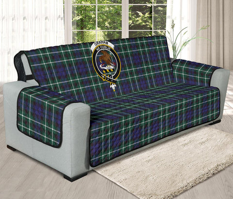 Graham of Montrose Modern Tartan Clan Badge Oversized Sofa Protector K7