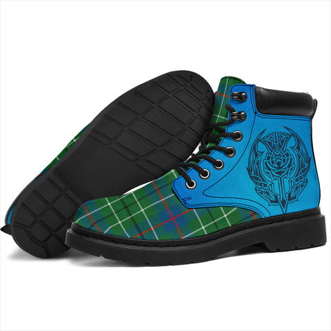 Duncan Ancient Tartan All-Season Boots - Celtic Thistle TH8