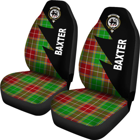 Baxter Clans Tartan Car Seat Covers - Flash Style - BN