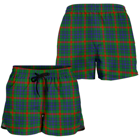 Aiton Tartan Shorts For Women