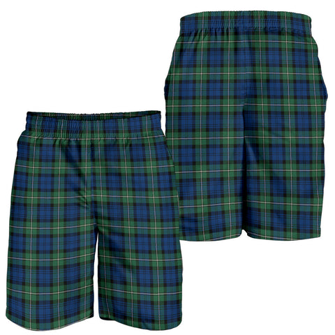 Forbes Ancient Tartan Shorts For Men K7