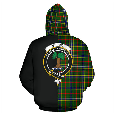 Image of Bisset Tartan Hoodie Half Of Me TH8