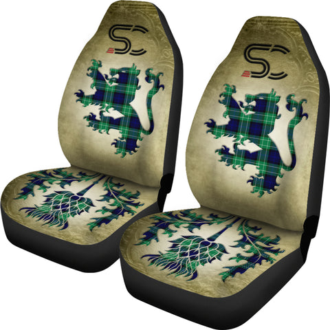 Abercrombie Tartan Car Seat Cover Lion and Thistle Special Style TH8